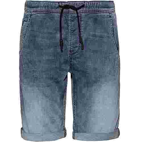 TOM TAILOR Jeansshorts Herren acid washed  blue denim