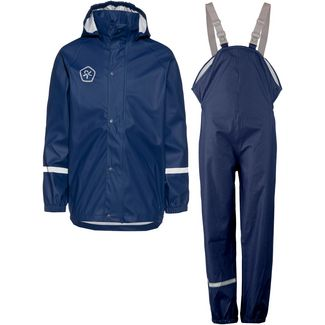 COLOR KIDS TAXI Matschhose Regenjacke Kinder estate blue