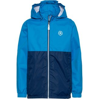 COLOR KIDS THY Regenjacke Kinder blue aster