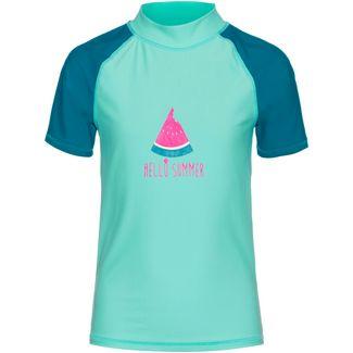 COLOR KIDS ELINE UV-Shirt Kinder crystal teal