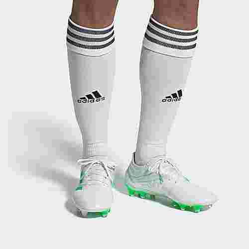 adidas Copa 19.1 FG Fußballschuh Fußballschuhe Herren Cloud White / Solar Lime / Cloud White