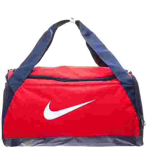 Nike Brasilia Duffel Small Sporttasche rot / dunkelblau