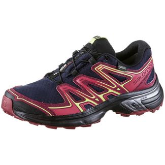 818237218c8963 Salomon WINGS FLYTE 2 GTX® Multifunktionsschuhe Damen evening blue-beet  red-sunny lime