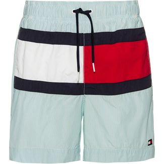 Tommy Hilfiger CORE FLAG ITHACA Badeshorts Herren ithica aquarelle- snow white