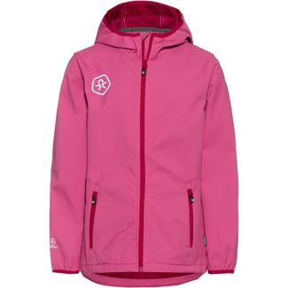 COLOR KIDS BARKIN Softshelljacke Kinder pink heaven