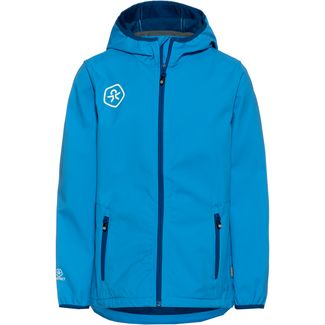 COLOR KIDS BARKIN Softshelljacke Kinder blue aster