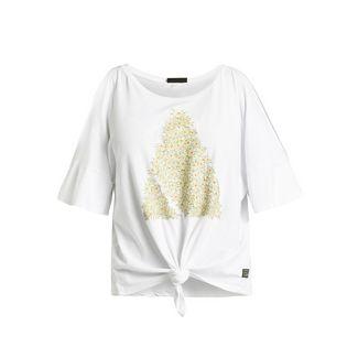 Khujo LAKSHMI PYRAMID T-Shirt Damen weiß
