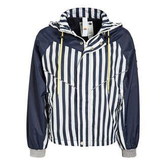Khujo MEDEA Jacke Damen blau-weiß gestreift