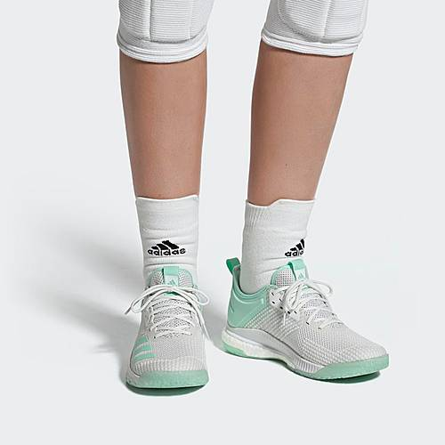 Adidas Crazyflight X 2.0 Parley Schuh Sneaker Damen Beige ...