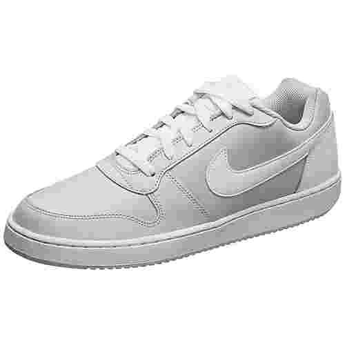 Nike Ebernon Low Sneaker Herren grau / weiß