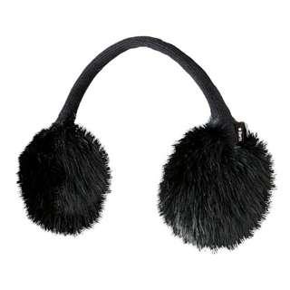 Barts Fur Ohrenwärmer schwarz