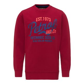 Petrol Industries Sweatshirt Kinder Fire Red