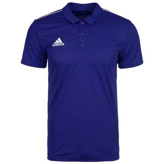adidas Core 18 Poloshirt Herren dunkelblau / weiß