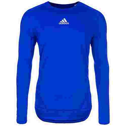 adidas AlphaSkin Sport Funktionsshirt Herren blau