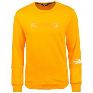 The North Face Light Crew Sweatshirt Herren dunkelgelb