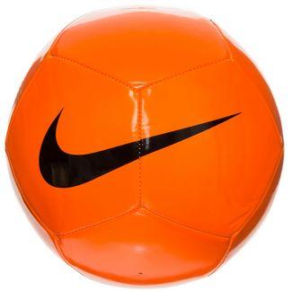 Nike Pitch Team Fußball orange / schwarz