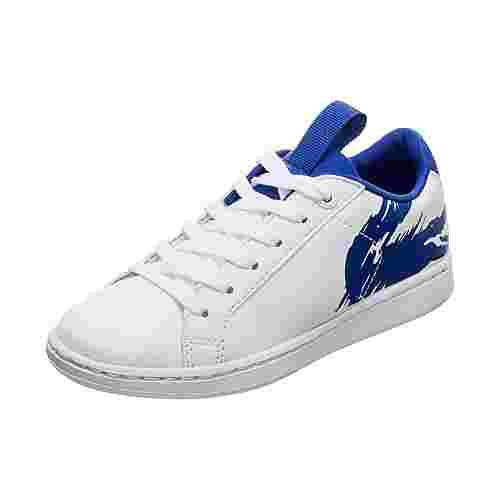 Lacoste Carnaby Evo Sneaker Kinder weiß / blau