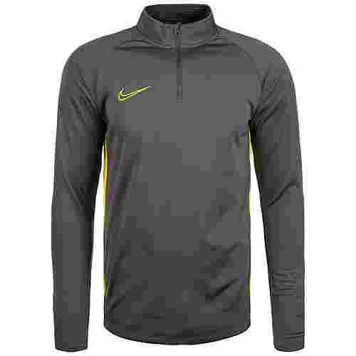 Nike Dry Academy Drill Funktionsshirt Herren anthrazit / gelb