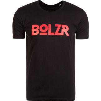 Bolzr T-Shirt T-Shirt Herren schwarz / rot
