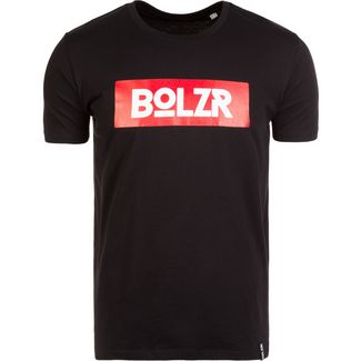 Bolzr T-Shirt T-Shirt Herren schwarz / rot / weiß