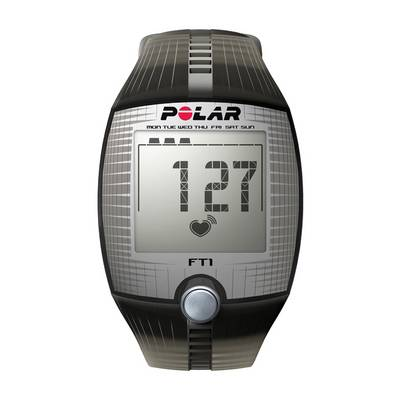 Polar FT1 Sportuhr schwarz