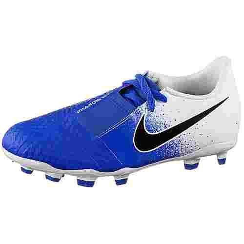 Nike JR PHANTOM VENOM ACADEMY FG Fußballschuhe Kinder white-black-racer blue