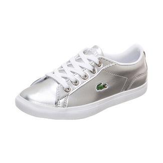 Lacoste Lerond Sneaker Kinder silber