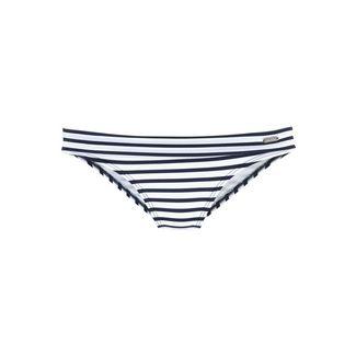 VENICE BEACH Bikini Hose Damen weiß-marine-gestreift