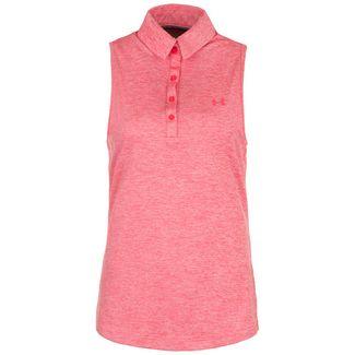 Under Armour Zinger Poloshirt Damen pink