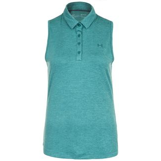 Under Armour Zinger Poloshirt Damen grün