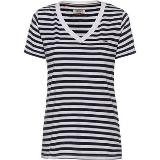 Tommy Jeans Tommy Classics T-Shirt Damen black iris-classic white