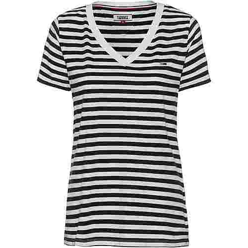 Tommy Jeans Tommy Classics T-Shirt Damen black iris-classic white