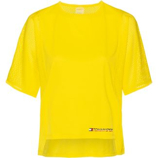 Tommy Sport T-Shirt Damen blazing yellow