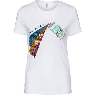 Only onlCollie T-Shirt Damen bright white-spray