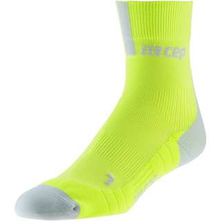 CEP Short Socks 3.0 Laufsocken Herren lime-light grey