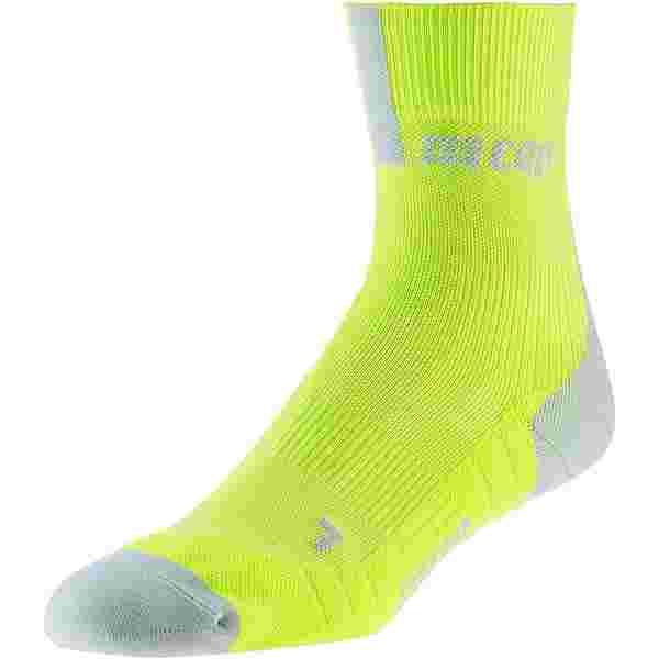 CEP Short Socks 3.0 Laufsocken Herren lime-light grey