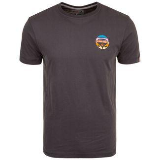 VAN ONE Bulli Face Retro T-Shirt Herren schwarz / bunt