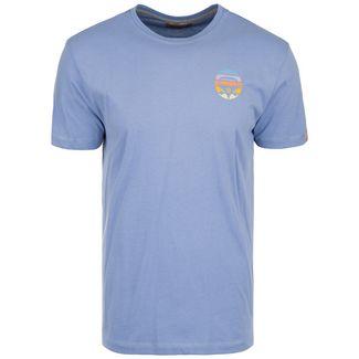 VAN ONE Bulli Face Retro T-Shirt Herren blau / bunt