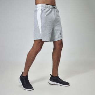 MOROTAI Neotech Sweatshorts Funktionsshorts Herren Light Grey