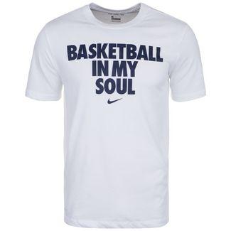 Nike Dri-FIT Basketball Shirt Herren weiß