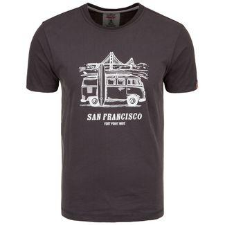 VAN ONE San Francisco T-Shirt Herren schwarz / weiß