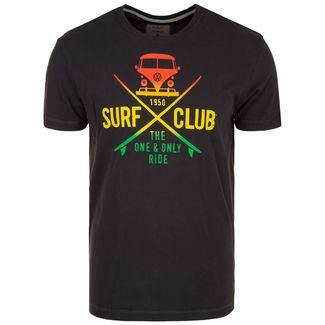 VAN ONE Surf Club T-Shirt Herren schwarz / bunt