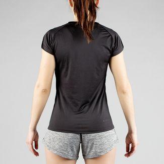 MOROTAI Performance Basic T-Shirt Damen Schwarz / Reflektor