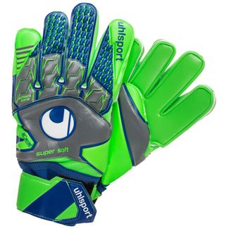 Uhlsport Tensiongreen Supersoft Torwarthandschuhe Herren hellgrün / grau