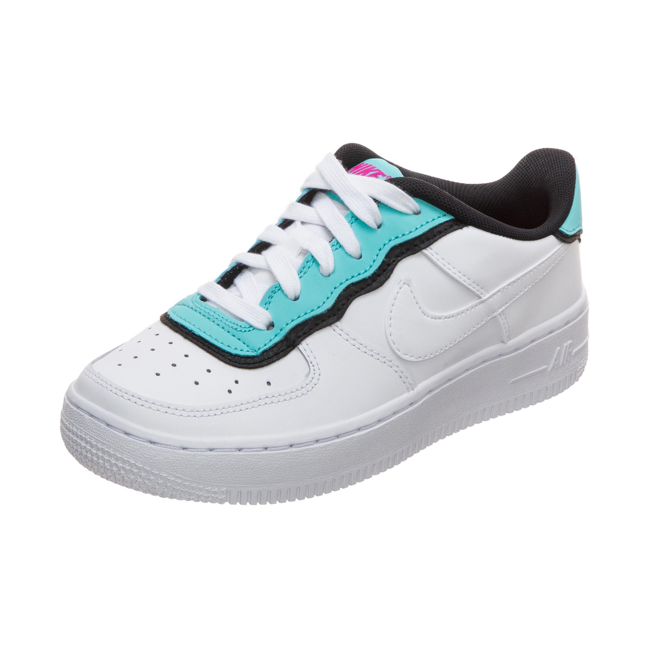 Nike Air Force 1 LV8 Style Sneaker Jungen weiß blau im Online Shop von SportScheck kaufen
