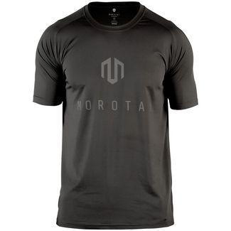 MOROTAI Performance Basic T-Shirt Herren Schwarz / Reflektor