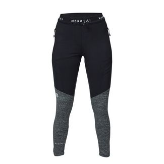 MOROTAI Running Performance Pants Funktionshose Damen Schwarz / Dunkelgrau