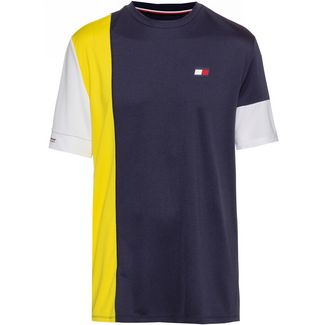 Tommy Sport T-Shirt Herren blazing yellow