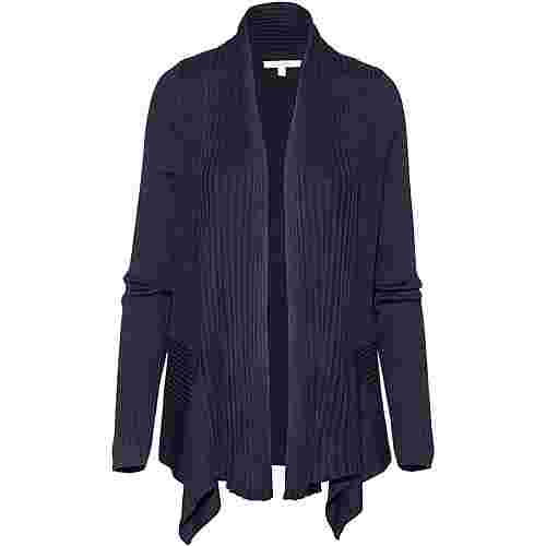 TOM TAILOR Strickjacke Damen true dark blue