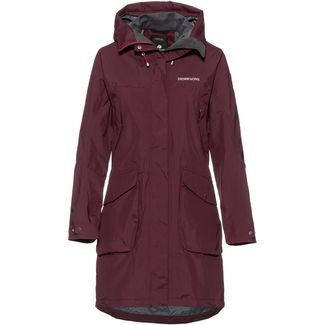 Didriksons 1913 Thelma Parka Damen wine red